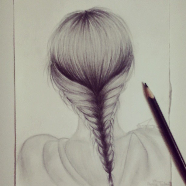 Fish Tail Drawings Draw∞ | Via Tumblr