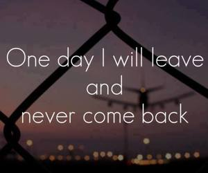 leave