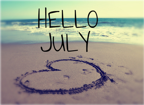 Hello July.Please Be Good.Have A Nice Month To Everyone! We Heart Photo Gallery