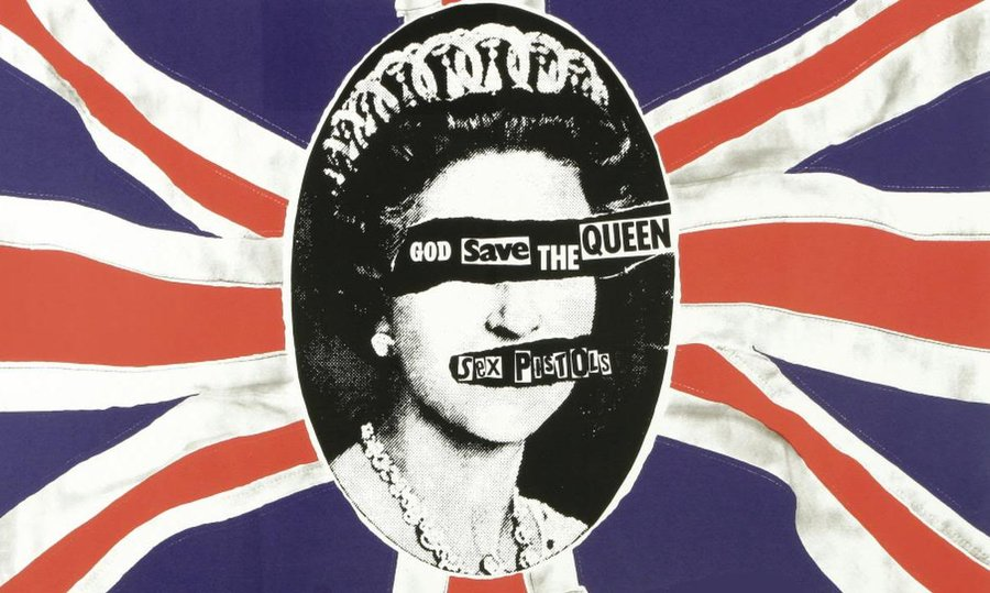 Image result for sex pistols god save the queen wallpaper