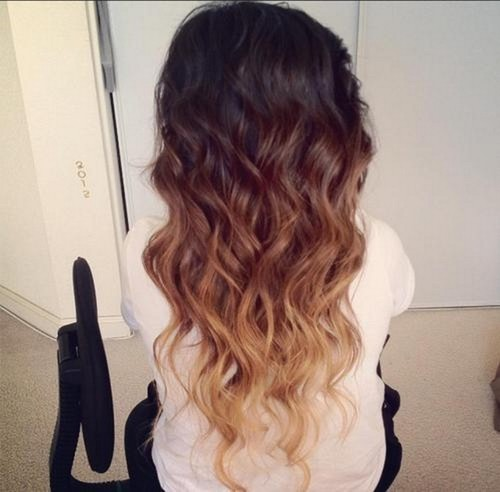 long, ombre hair , inspiring picture on Favim.com by iℒℴѵℯ ϋ❤