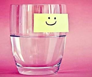 cup smile pink hope