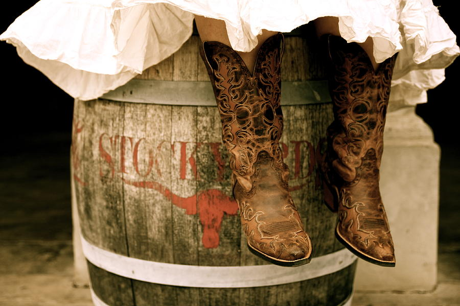 Group of Cowgirl Boots r Osm