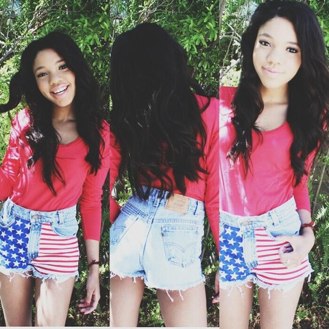 teala dunn instagram - Google Search by ☾ 幼稚な ☽ | We Heart It