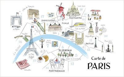 Images About Paris Moi On We Heart It See More About Paris - Paris map in english