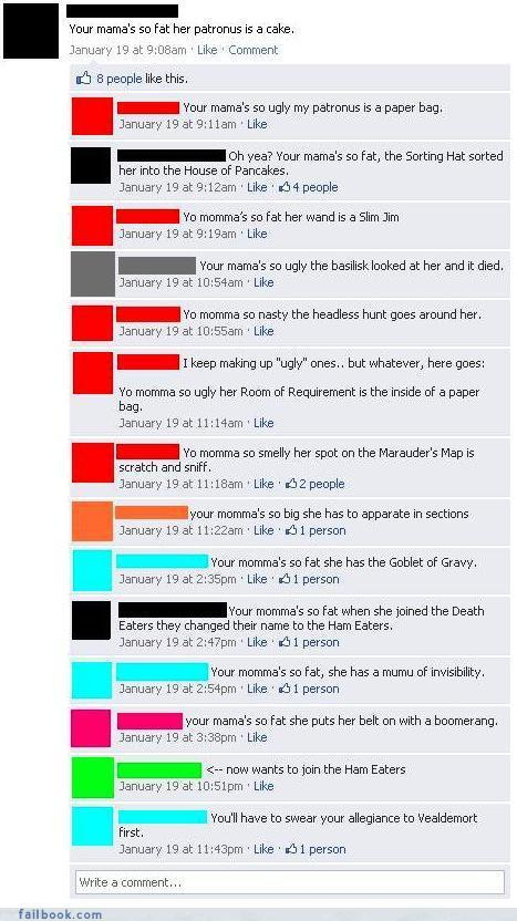 Failbook Funny Facebook Status Messages Failbooking Page