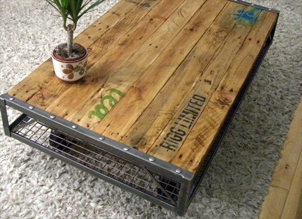wood pallet table diy vidrian furniture