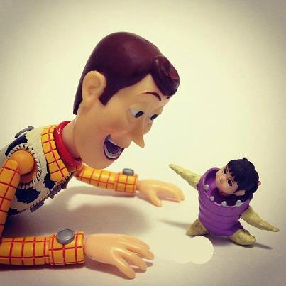 Woody and Boo.   We Heart It