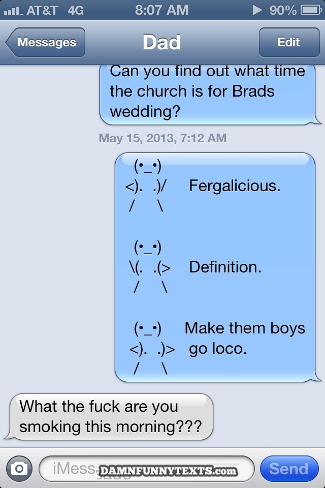 Group of Damn Funny Texts »