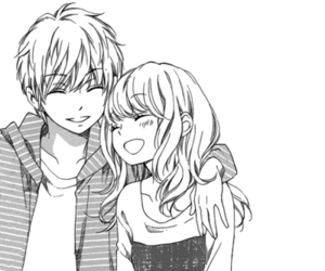 Manga couples by dancing in the dark on whi - Dark anime couples ...