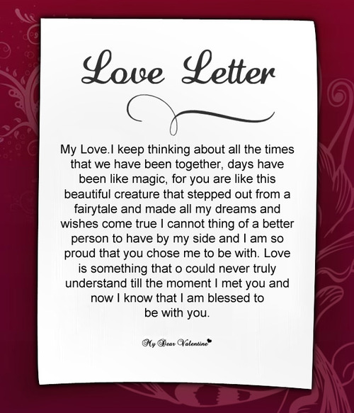 my love for you essay