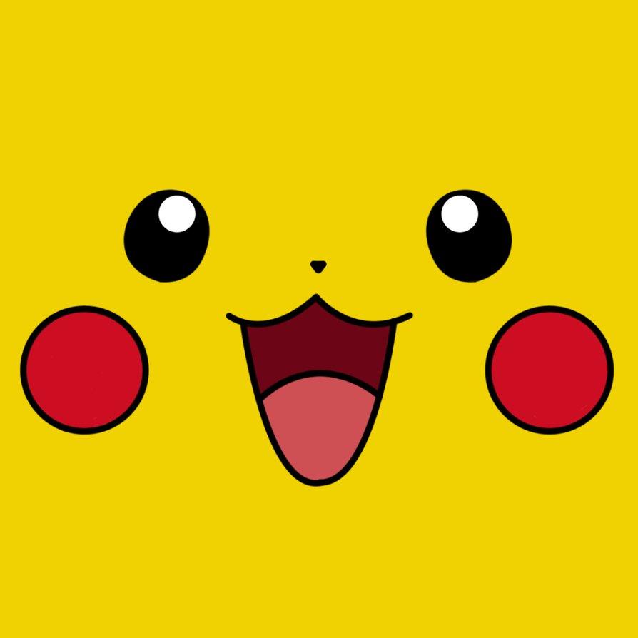 pikachu face wallpaper iphone