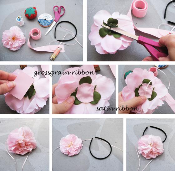 Как делать резинки для волос своими руками фото