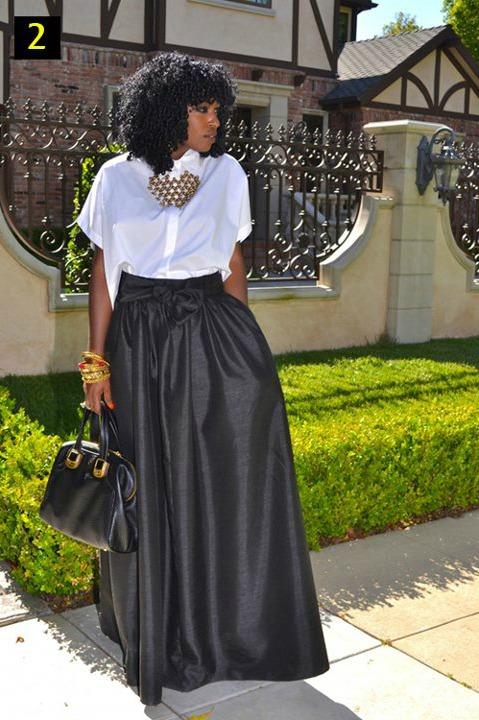 Maxi Formal Skirts