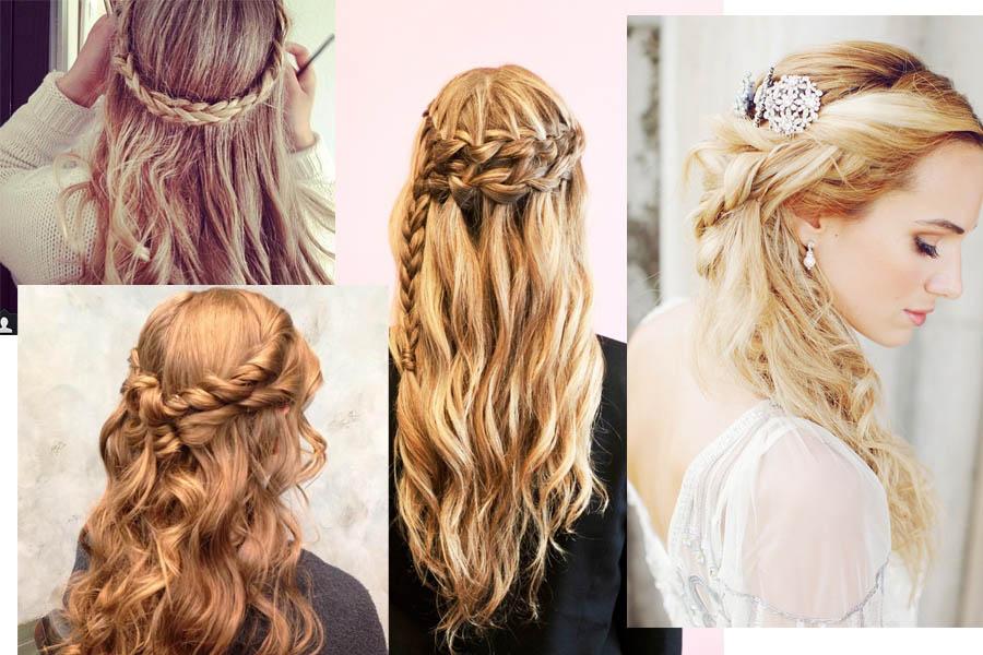 Coiffer Des Cheveux Longs Coiffure Facile Pour Fille