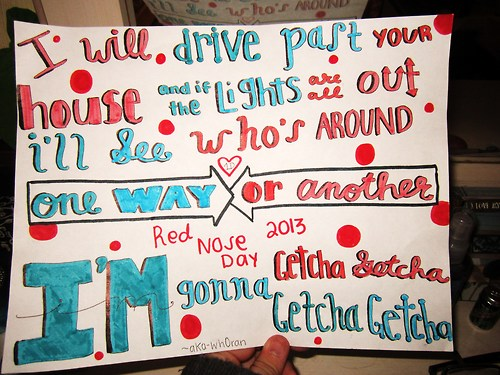 One Way or Another Lyrics Drawing Group of One Way or Another