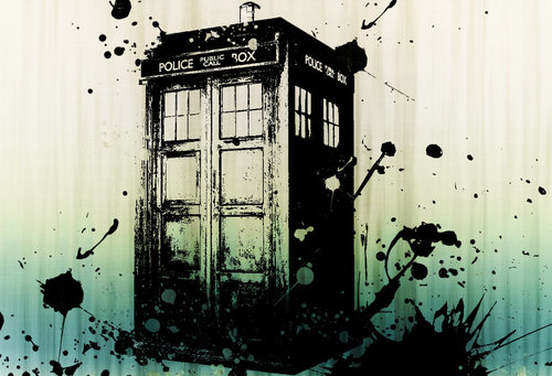 Tardis Graffiti by ~VulpesvulpesLady on deviantART