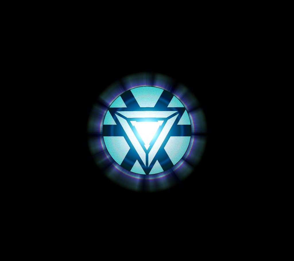 Arc reactor iron man we heart it iron man tony - Iron man heart wallpaper ...