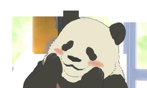 Group of Totally Transparent Panda Tumblr Transparent