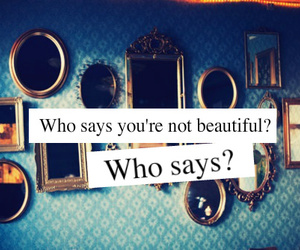 who says
