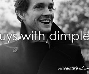 dimples