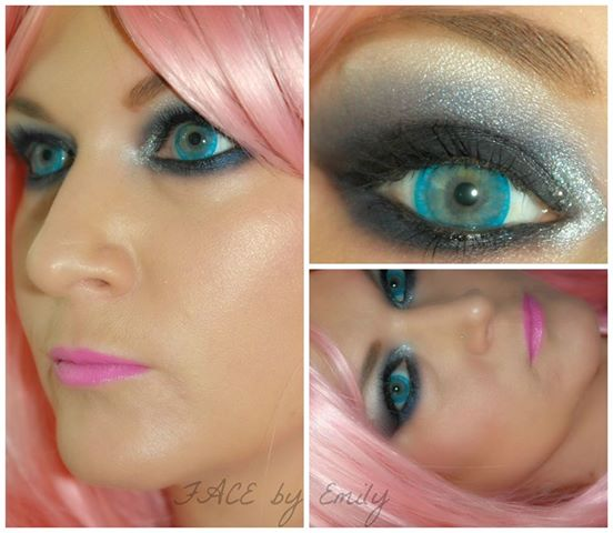Eye makeup for big blue eyes