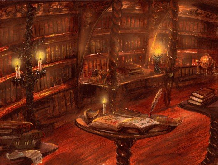 The Library Tower by Franz Miklis - Fantasy art galleries ...