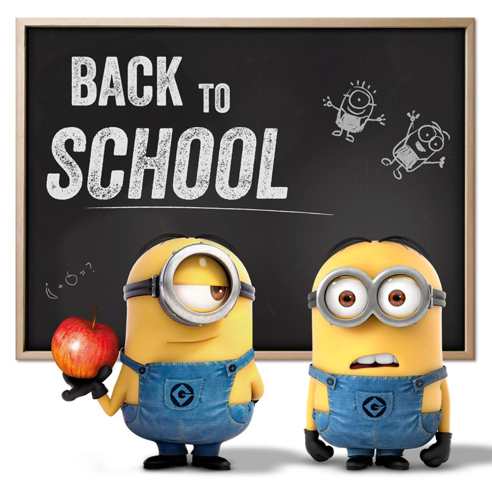 Image result for minion welcome back not copyrighted