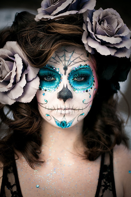 Halloween Skeleton Makeup Ideas Unique 2012