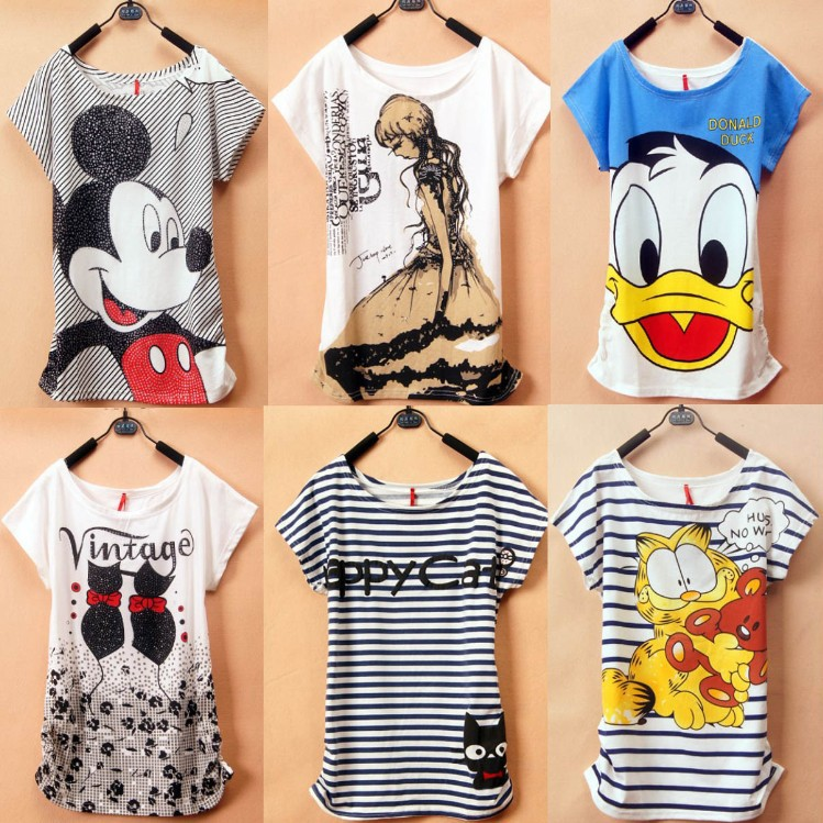 Most Popular Summer Trending T-Shirts For Women