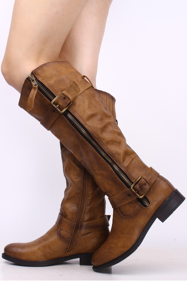 elegant shoes exquisite style multiple colors Womens leather riding boots on sale : Whose line is it ...
