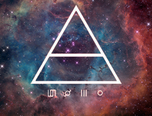 30 seconds to mars-triangle | We Heart It | 30 seconds to ...
