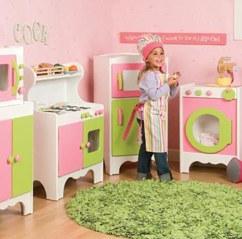 Juegos de cocinas para ni as en koo koo bear muebles y for Girls kids kitchen