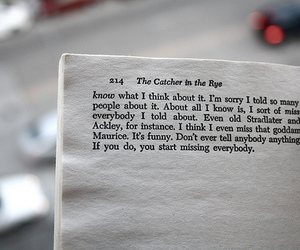 catcher in the rye quote analysis
