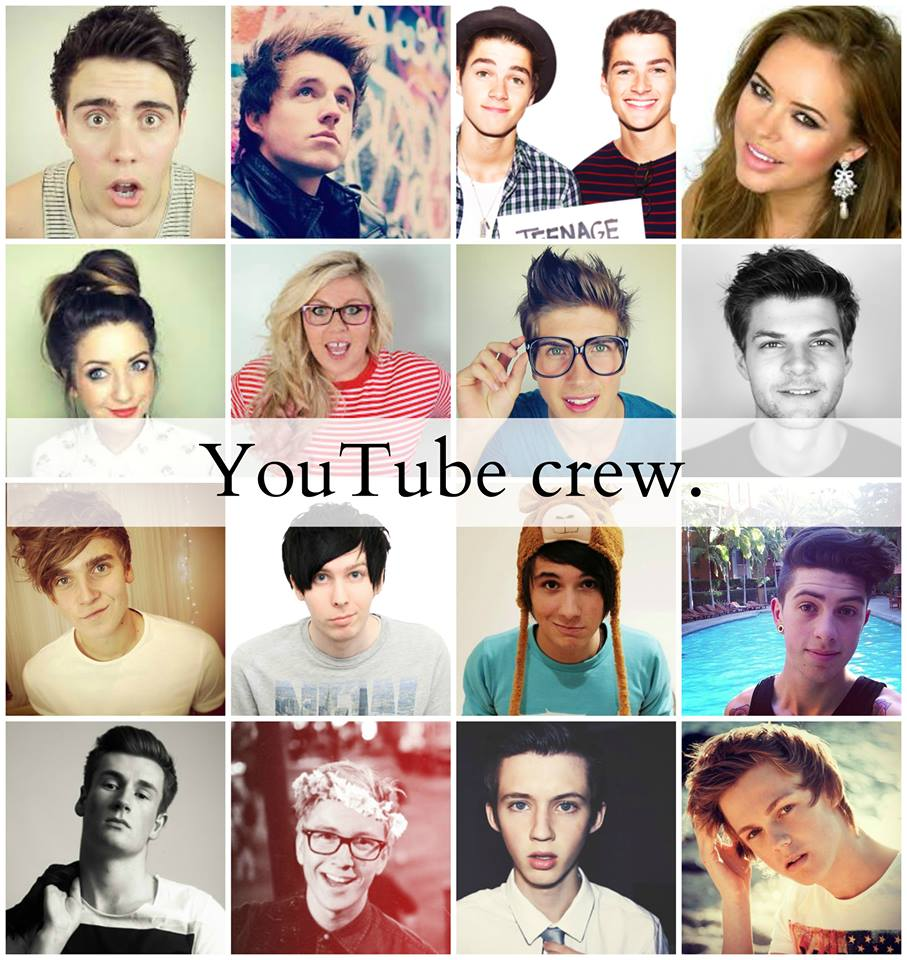 British Youtubers Tumblr Collage My Favorite We Heart It