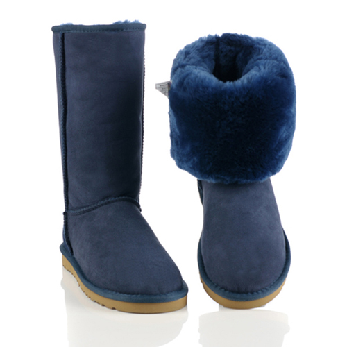 Ugg Boots Classic Tall 5815 Navy Blue For Sale Ugg5815 005
