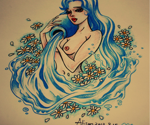tattoo design aquarius