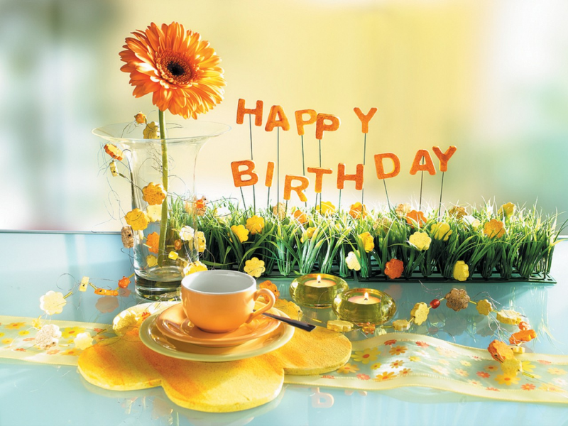 images about happy birthday on we heart it  see more about, Beautiful flower