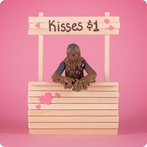 You Obviously Donu0027t Know How Much Iu0027d Give To Kiss Chewbacca. I Want Him To  Be My Valentine Next Year.