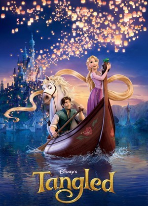 Flynn_rider_zachary_levi_tangled_rapunzel_disney_horse_maximus_poster_136434261_large