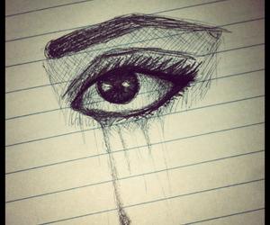 eye pen drawings