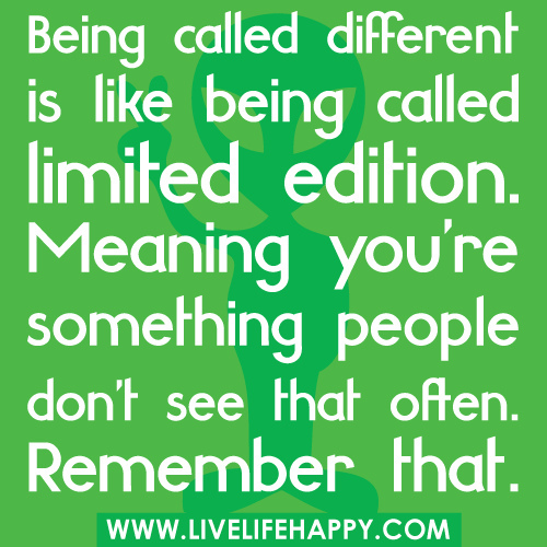 Being Different Quotes Group of quotes about being