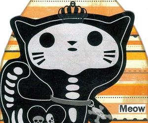 cat meow skulls bones