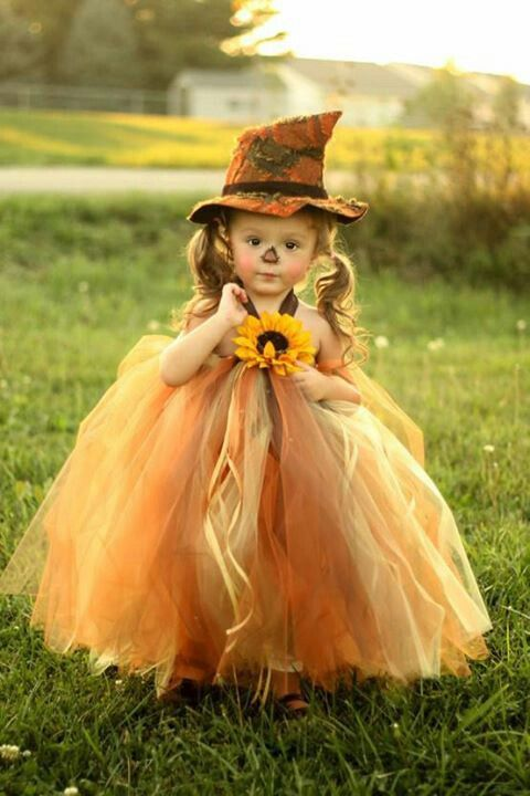 a scarecrow baby girl halloween costume too cute halloween - Halloween Costume For Baby Girls