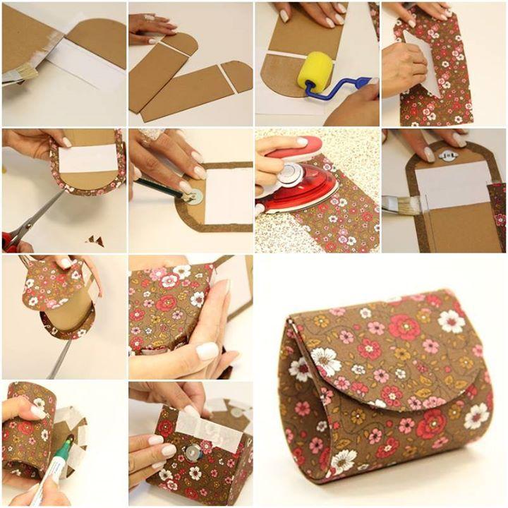 Как сшить сумку косметичку из ткани своими руками