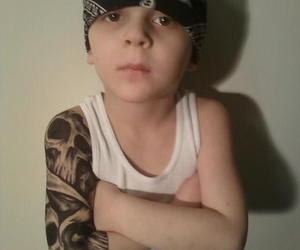 kids tattoos badass