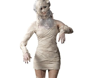 White 2 Piece Egyptian Mummy Costume,sexy horror costume, sexy horror costumes, sexy costumes, sexy costume, sexy adult costumes,rocky horror costume, rocky horror costumes, horror movie costumes, columbia rocky horror costume, horror costumes,halloween h