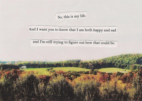 trying to be happy quotes tumblr