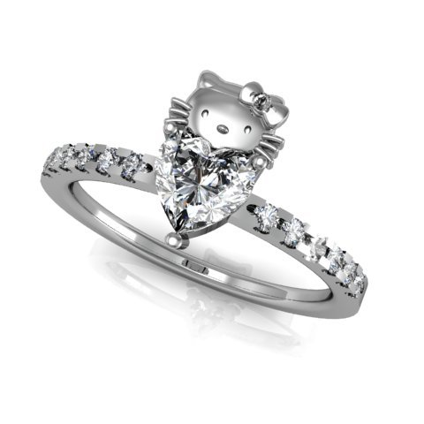 hello kitty engagement ring creation story by takayas