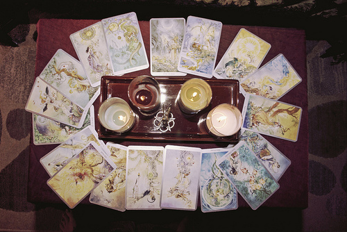 Tarot card intention exercise | Flickr - Photo Sharing!
